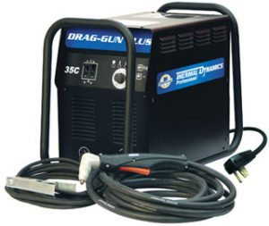 Мобильная установка для ручной плазменной резки DRAG-GUN Plus со встроенным компрессором